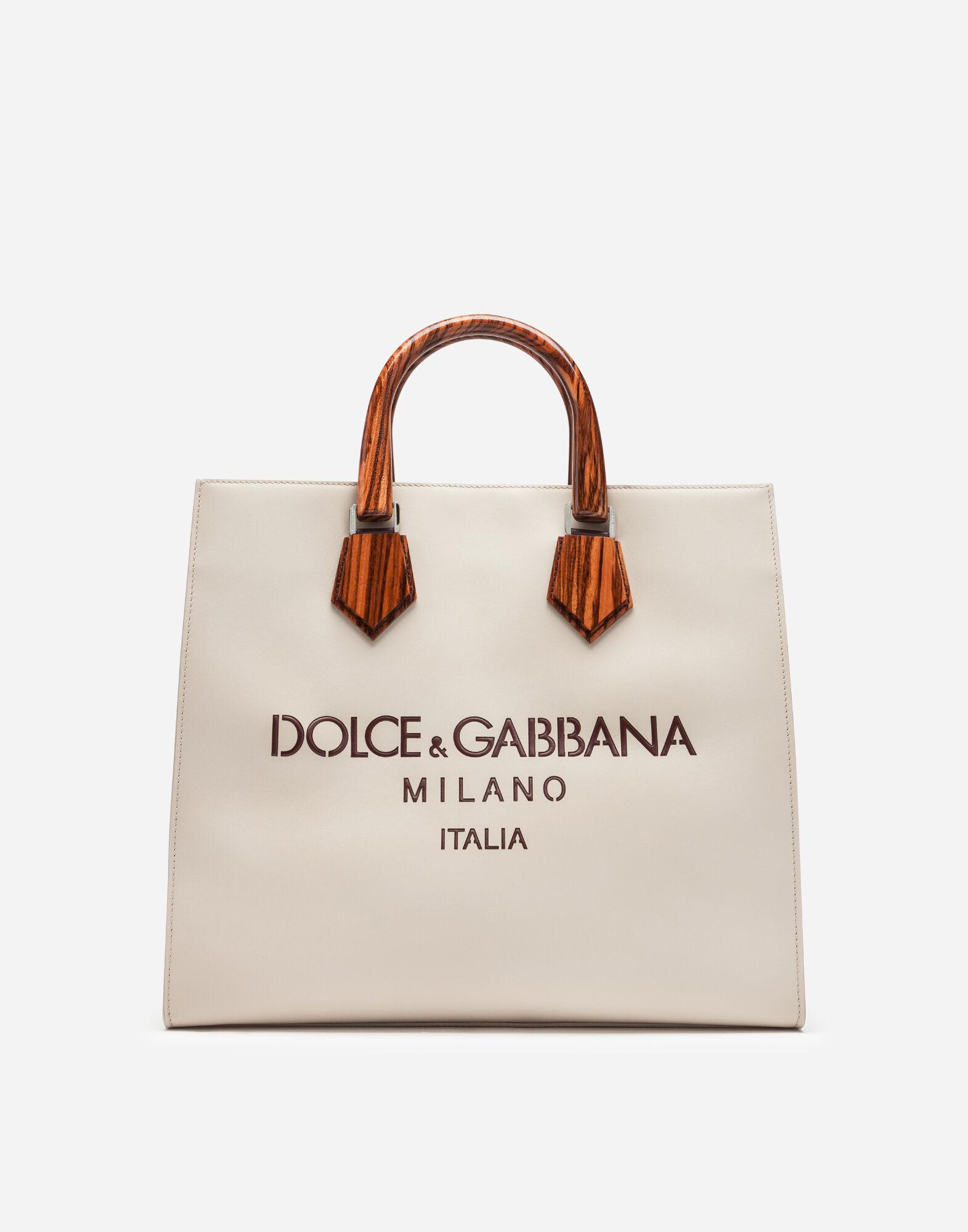 おしゃれなメンズブランドバッグ DOLCE&GABBANA レーザードロゴ