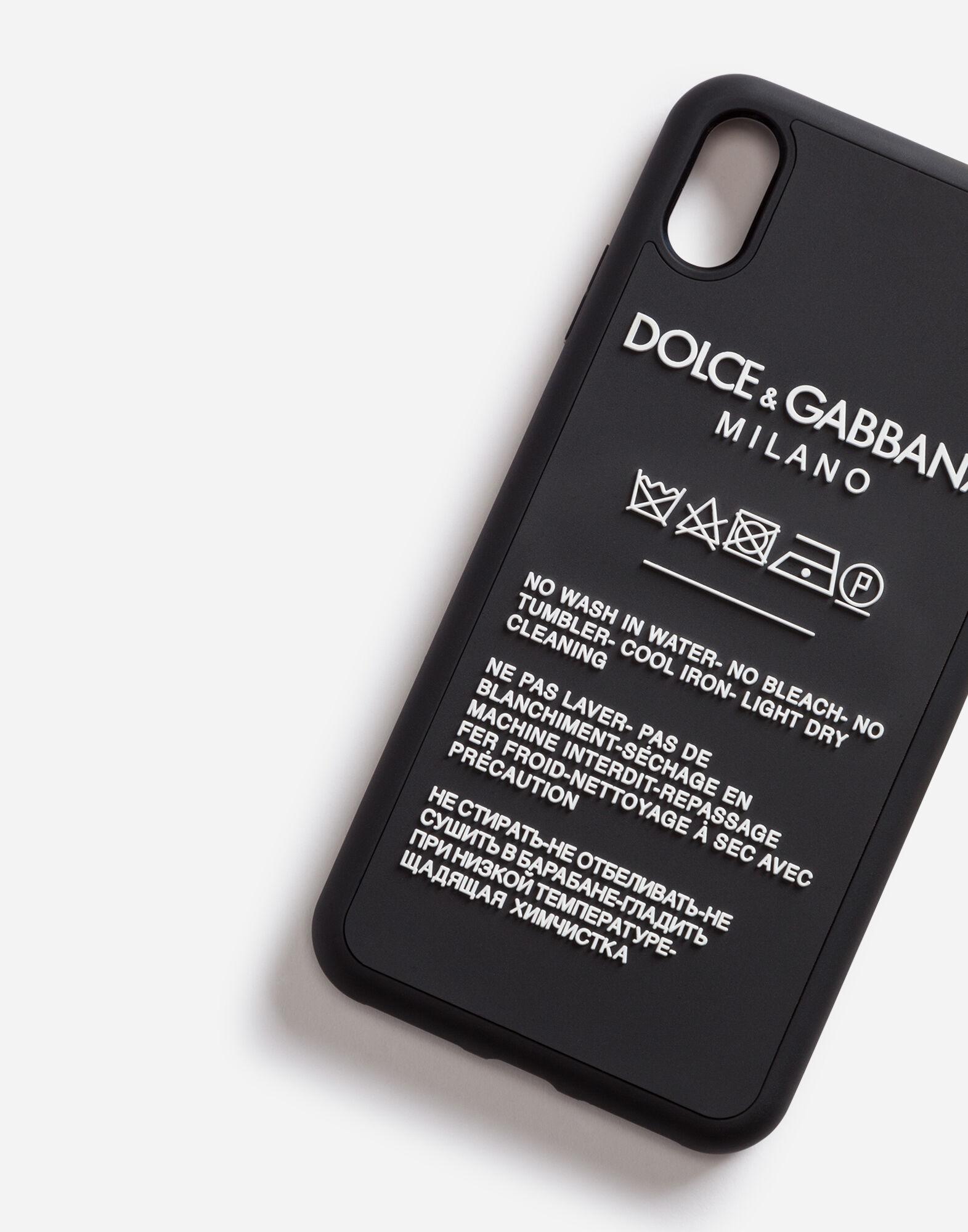 Cover Iphone Xs Max Gomma - Accessori Uomo  Dolce&Gabbana