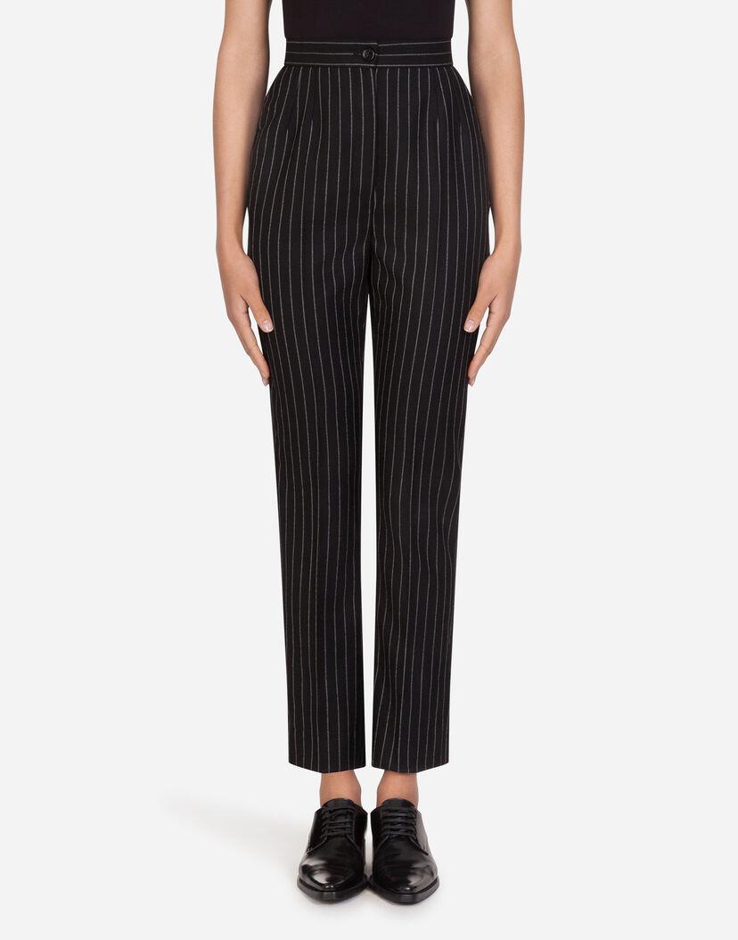 Thejagielskifamily: Pantalones Rayados Mujer