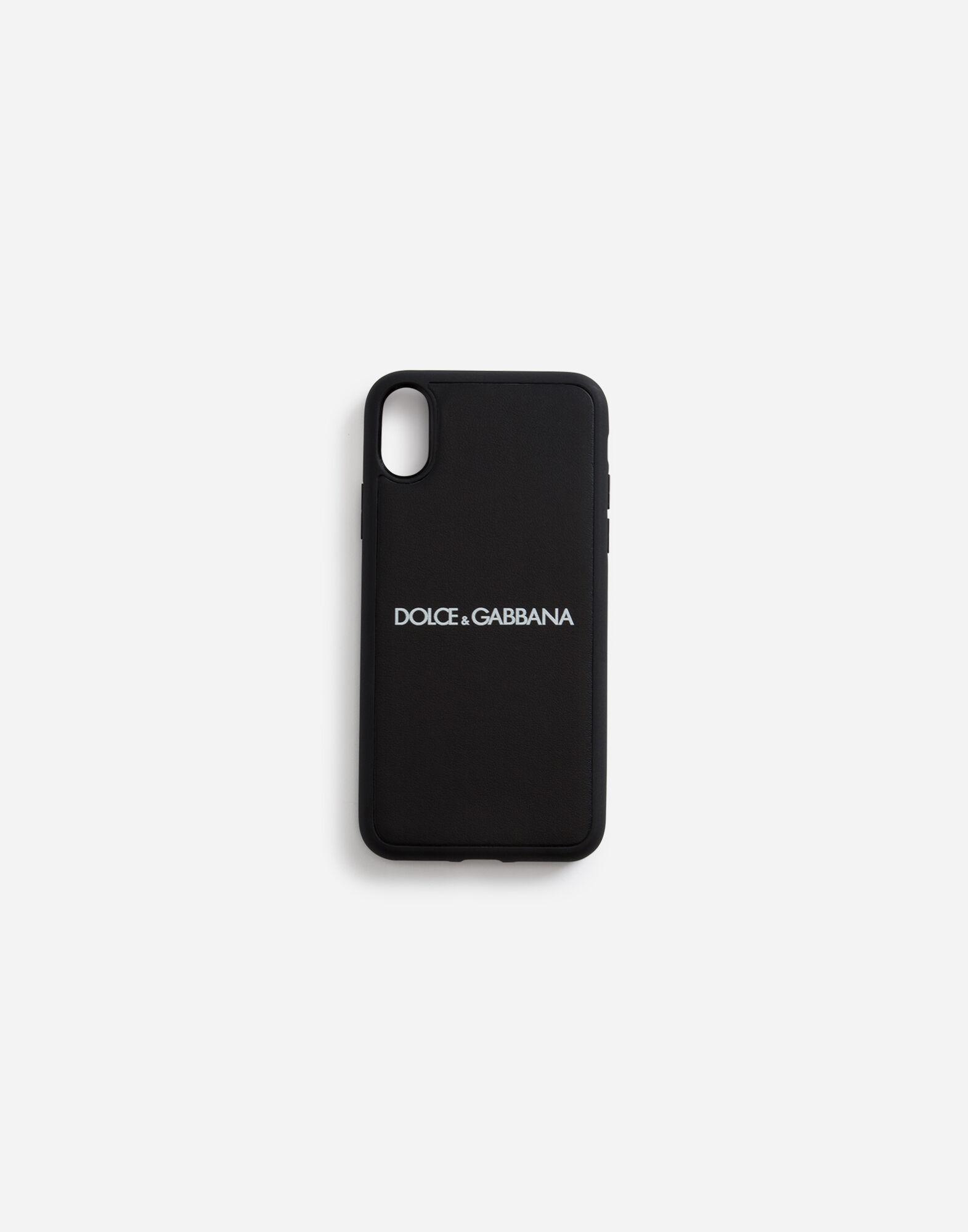 Men's Technology   Dolce&Gabbana - Calfskin iPhone X cover with ...