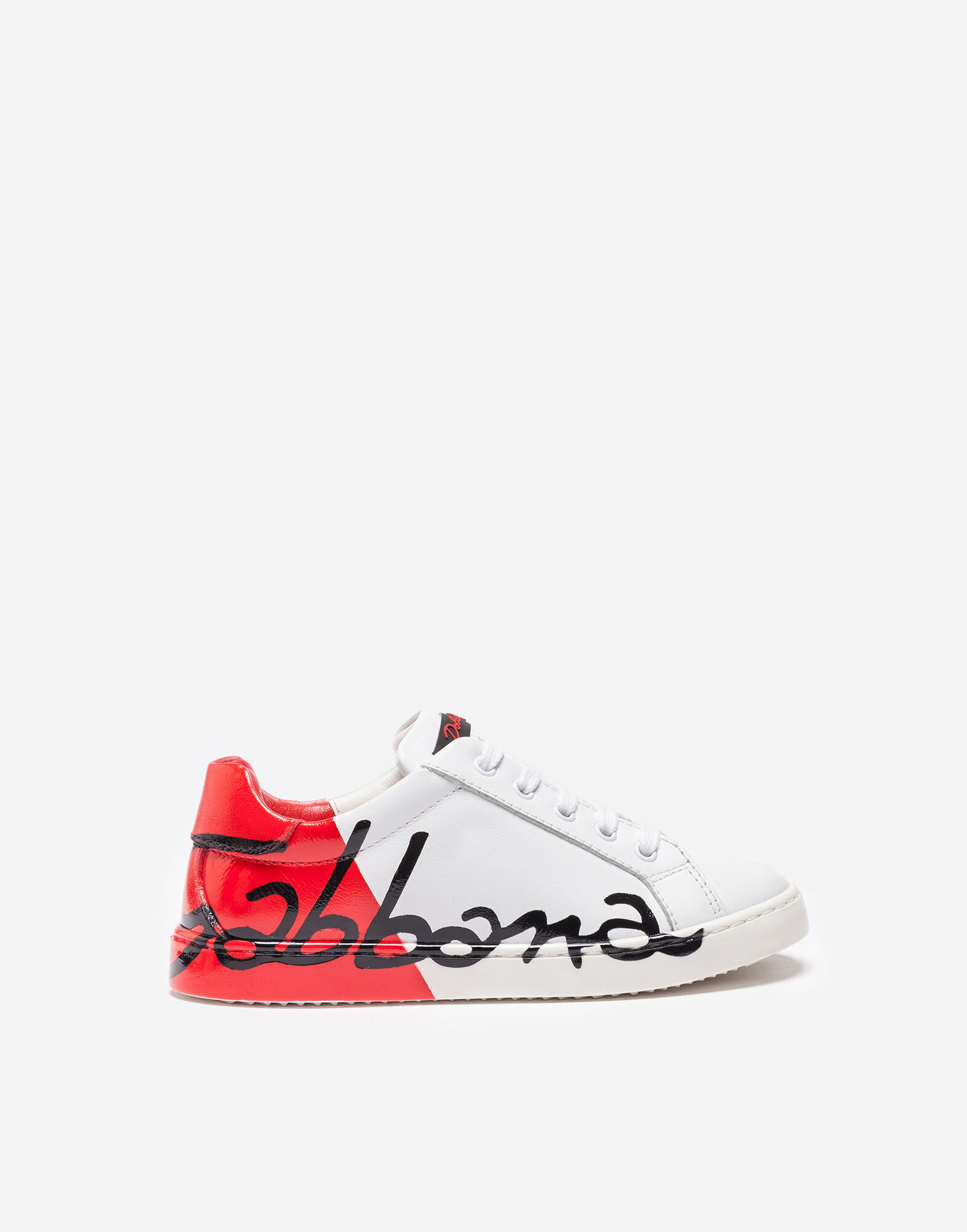 Leather Sneakers - Girls | Dolce\u0026Gabbana