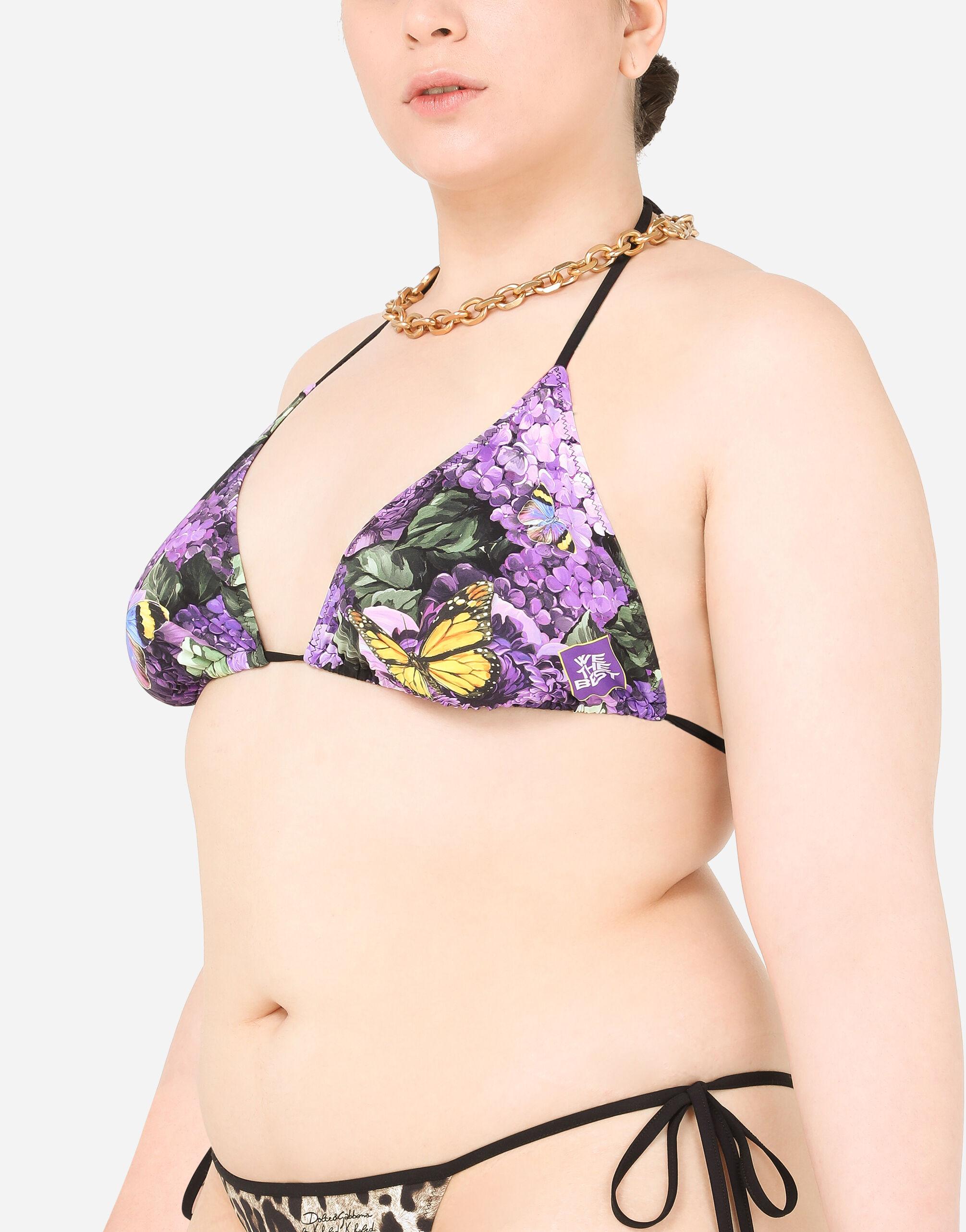 Bikini stampa butterflies