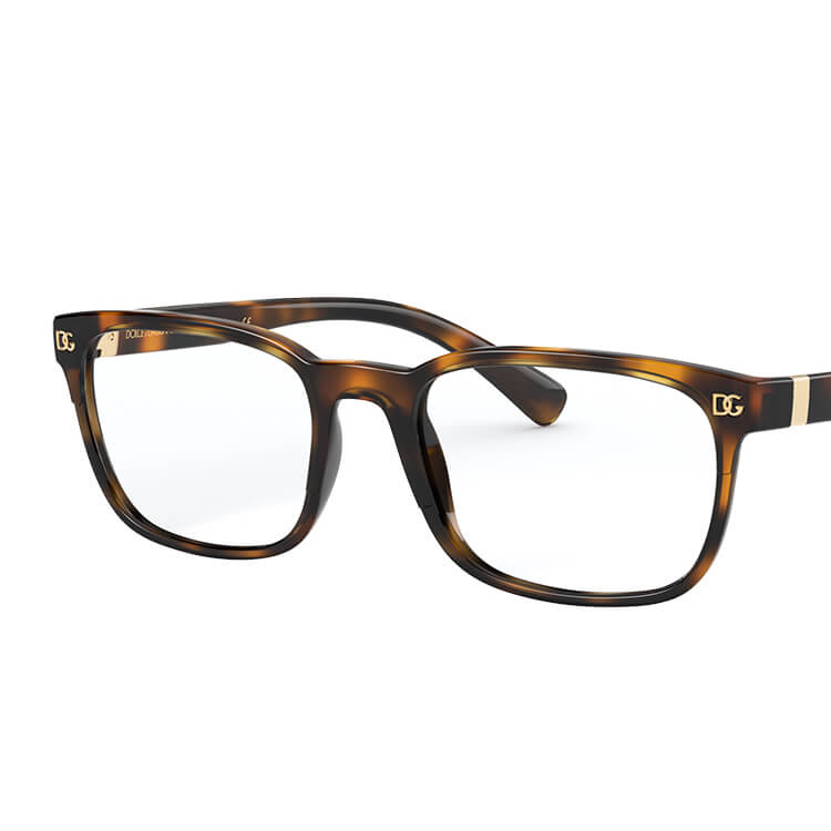 Eyeglasses Dolce /& Gabbana DG 3302 F 675 Top Black On Crystal