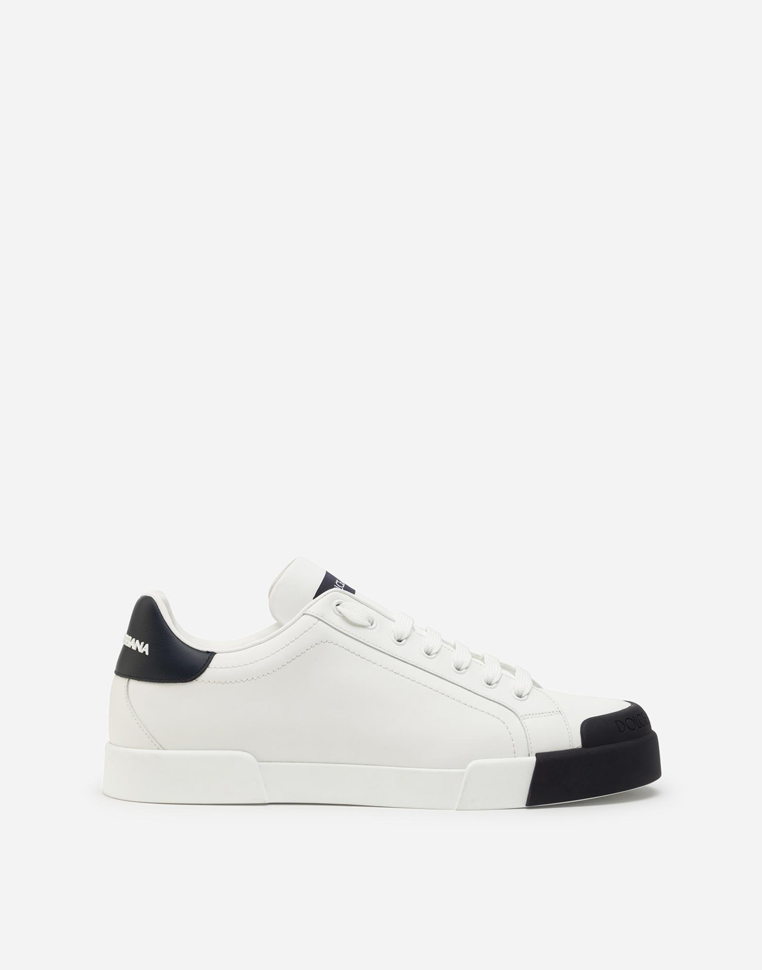 dolce & gabbana calfskin nappa portofino sneakers